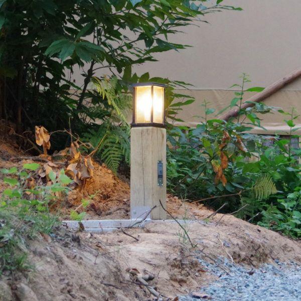 houten sfeerverlichting