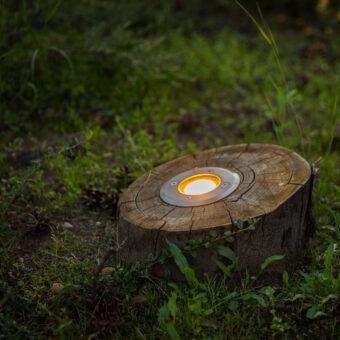 houten buitenverlichting